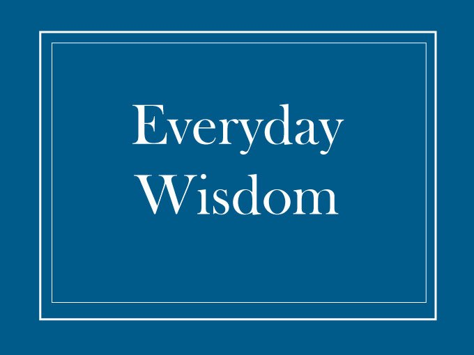 Ara Parisien Everyday Wisdom Book